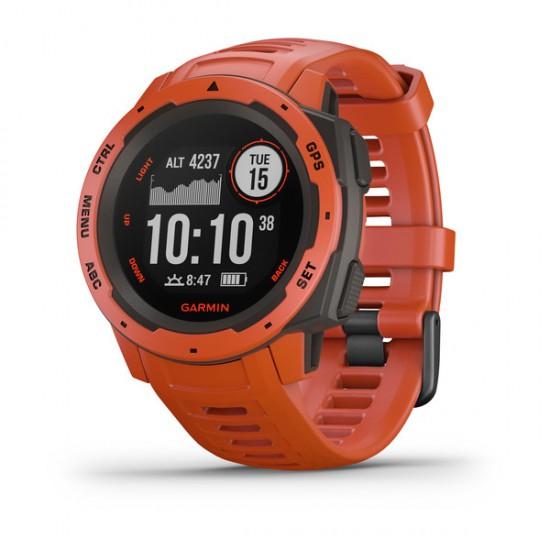 Garmin Instinct GPS Smartwatch 010-02064-02 Flame Red 45mm