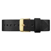 Rosefield The Gramercy Horlogeband Zwart Goud