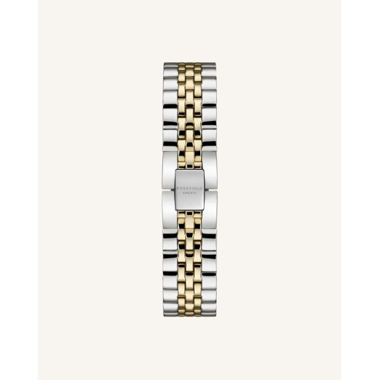 Rosefield The Boxy XS White Silver Gold