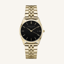 Rosefield The Ace Black Gold 33mm
