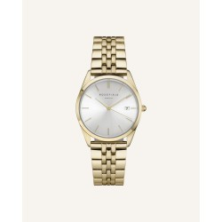Rosefield The Ace Silver Sunray Gold 33mm