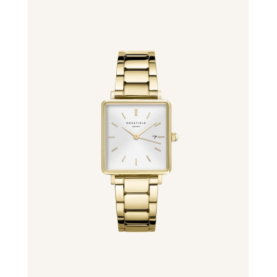Rosefield The Boxy White Sunray Gold