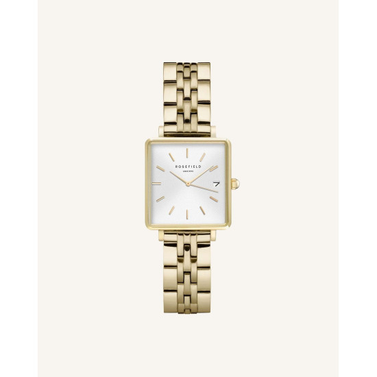Rosefield The Boxy XS White Gold