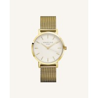 Rosefield The Mercer White Gold 38mm
