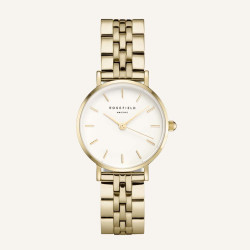 Rosefield The Small Edit White Steel Gold