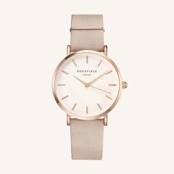 Rosefield The West Village Soft Pink rosé gold 33mm