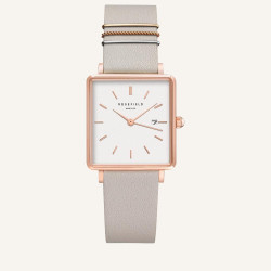 Rosefield The Boxy White Grey Rosé 33mm