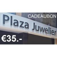 Cadeaubon €35,-