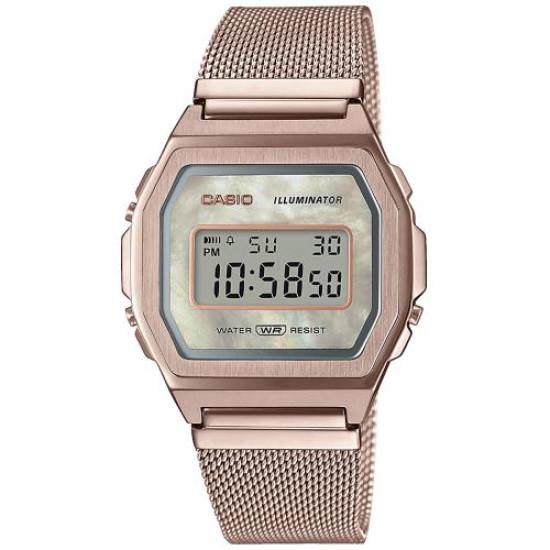 Casio A1000MCG-9EF Vintage Horloge