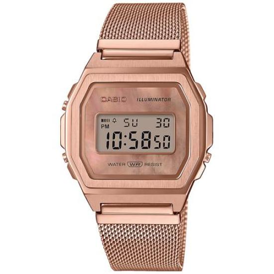 Casio A1000MPG-9EF Vintage Horloge