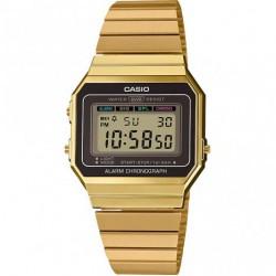 Casio Retro A700WEG-9AEF Classic Digitaal