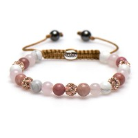 Karma Armband Spiral Beautiful Berry XS 83420