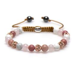 Karma Armband Spiral Beautiful Berry XS 83420