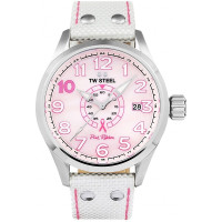 TW Steel TW972 Volante Pink Ribbon Horloge 45mm