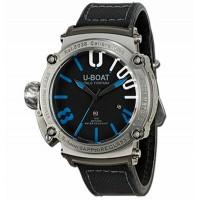 U-Boat 8038 Classico 47 1001 SS BLU TITANIUM Horloge 47mm