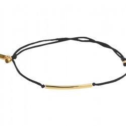 NL Armband katoen balkje 13 - 19 cm