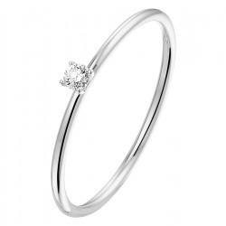 NL Ring diamant 0.05ct H SI