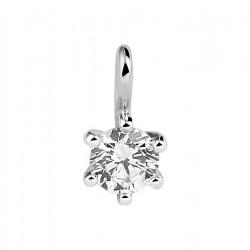 NL Hanger made diamond 0.25ct F VSI