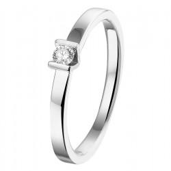 NL Ring diamant 0.075ct H SI